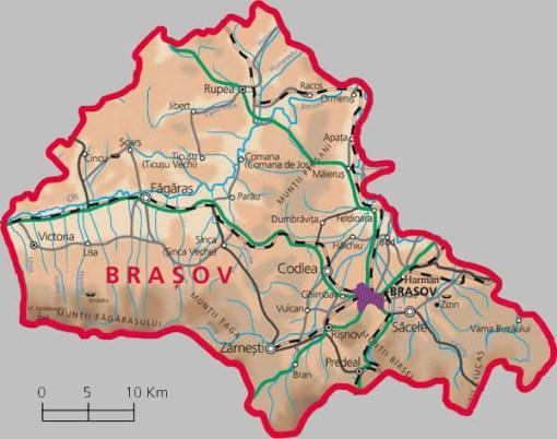 maps of Magura Magura Transylvania