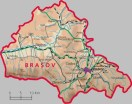 Judet Brasov or Brasov County. Magura is nearest to Zarnesti, in the bottom centre of the map.