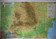This shows the 'elbow' of the Carpathian Mountains which fill the region of Transylvania