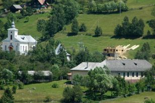 Magura Transylvania, remote village in rural Romania, 1,000m high in the Carpathian Mountains