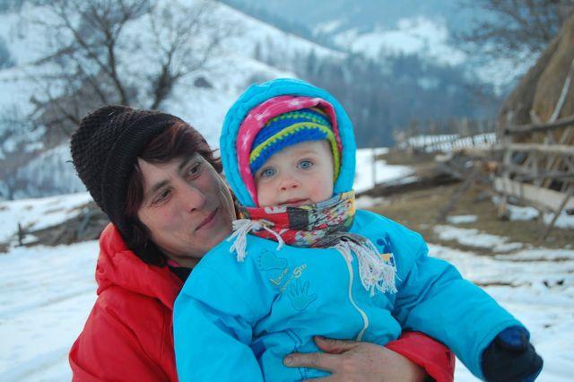 Magura, Transylvania, Romania, winter, snow, Carpathians, mountains