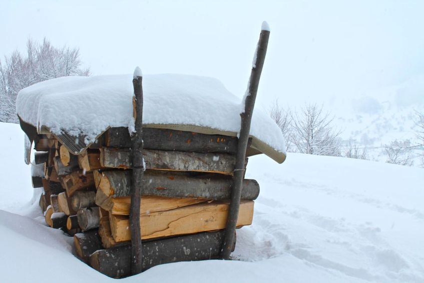 Winter, snow, Magura Transylvania, Romania, Winter scenes, snowy weather, snow scenes, February,
