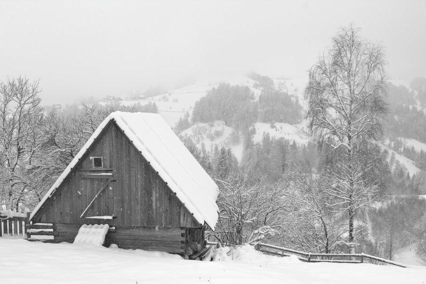 Magura Transylvania, snow, winter, beautiful snow, mountain winter, Carpathian mountains, Piatra Craiului