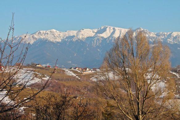 Magura, Transylvania, Bucegi, mountains, Martisor, 1st March, Spring, snowy mountains, Romania