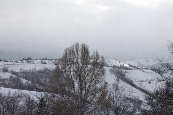 winter, snow, mountains, Bucegi, Magura, Transylvania, Romania, Spring, winter, blue sky, landscape, beautiful mountains