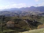 Carpathian mountain village Magura