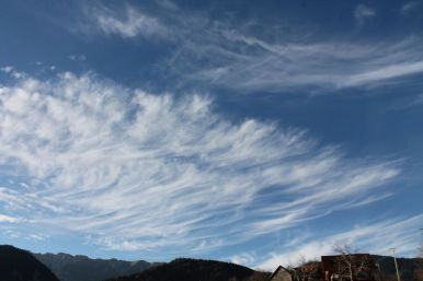 Cirrus, cloud, cloudspotting, Magura, Romania, Carpathians, Transylvania, summer sky, mountains