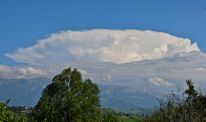 cloud spotting, anvil, storm clouds, mountain storm, Bucegi, Carpathians, Magura, Romania, Wallachia