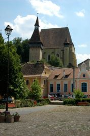 The great fortified church of Birthalm (Biertan)
