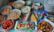 Vegetarian food, Magura, Transylvania, vegetables, grains, good food