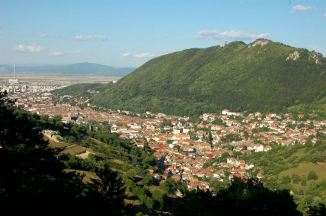 Brasov old town and Schei