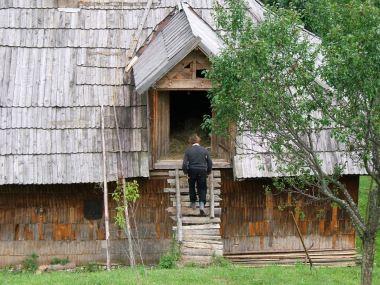 Getting the hayloft ready