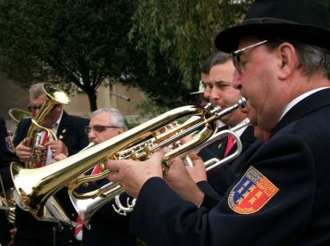 Saxon brass band, Zarnesti