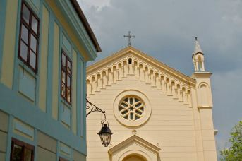 Sighisoara paintwork
